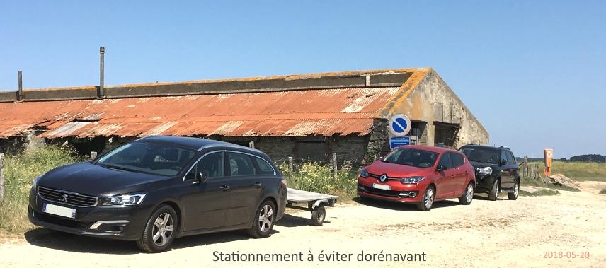 Stationnement au Dibenn